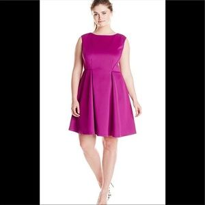 Fit and Flare Dress 14W